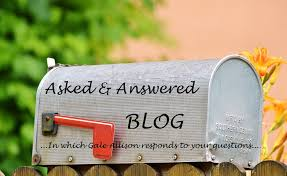 Mailbox saying Asked and Answered Blog